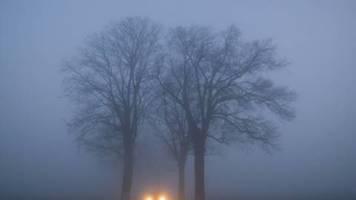 Knapp 2600 schwere Nebelunfälle mit 81 Getöteten in vergangenen vier Jahren
