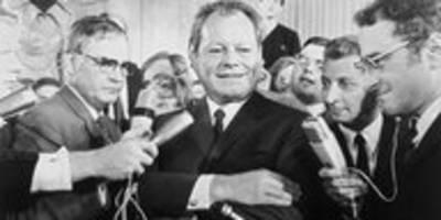 Vor 50 Jahren – Brandt wird Kanzler: Mehr Demokratie wagen