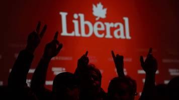 keine absolute mehrheit: liberale von premier trudeau erneut stärkste kraft in kanada