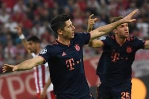 Lewandowski und Müller führen Bayern zu Zittersieg in Piräus