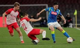 Salzburg sinnt in Champions League gegen Napoli auf Revanche