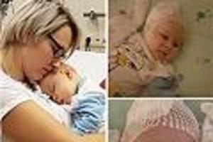 krankenkasse stimmt zu - leidet unter seltener erbkrankheit: baby john bekommt zwei-millionen-spritze