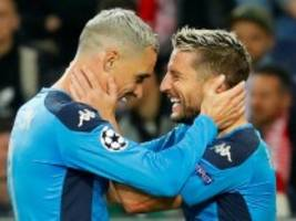 Champions League: Neapel gewinnt furiose Partie in Salzburg