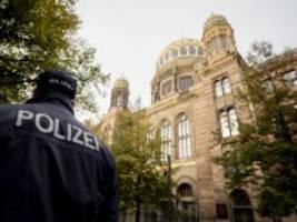vor berliner synagoge: unterschätzten die behörden einen möglichen anschlagsversuch?