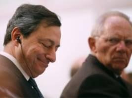 Wechsel an der EZB-Spitze: Kämpfer gegen alle Widerstände