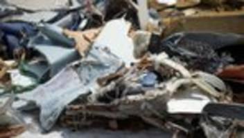flugzeugabsturz: konstruktionsfehler grund für absturz in indonesien