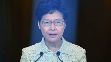 bericht: peking erwägt absetzung von hongkongs regierungschefin lam
