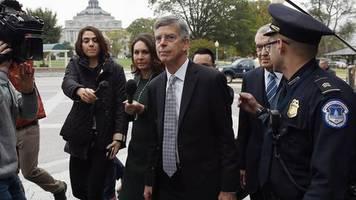 Militärhilfen für Biden-Ermittlungen?: Ukraine-Affäre: US-Botschafter packt vor Kongress aus – und belastet Trump schwer