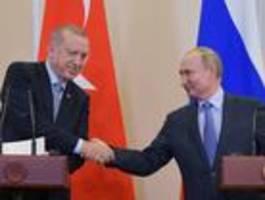 putin und erdogan werden eine internationale schutzzone nicht dulden