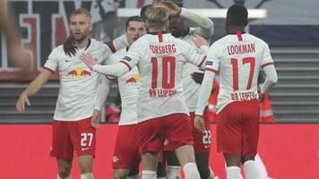 Champions League: Erster Heimsieg: RB Leipzig zieht an St. Petersburg vorbei
