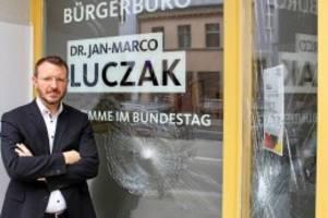 extremismus: anschläge auf weitere büros von cdu-abgeordneten
