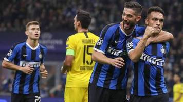 Champions League: Ideenloser BVB verliert bei Inter Mailand