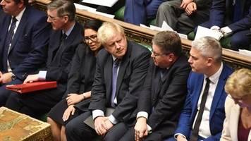 krimi in großbritannien: noch eine woche bis zum brexit-datum – und sicher ist bislang weiter (fast) nichts