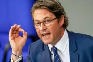 Pkw-Maut: Minister Scheuer fordert Millionenstrafen für Mautbetreiber