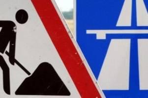 verkehr: a7 wird wegen bauarbeiten erneut gesperrt