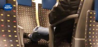 Füsse auf Sitzplätzen: «Das gesamte Vierer-Abteil wurde so blockiert»