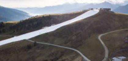snowfarming: ski fahren, auch vor dem ersten schnee