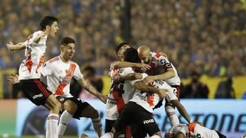 Club-Event in Südamerika: River Plate im Finale der Copa Libertadores