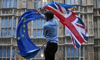 der brexit nervt  aber da müssen wir durch