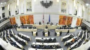 Österreich: parlament tritt nach wahl erstmals zusammen