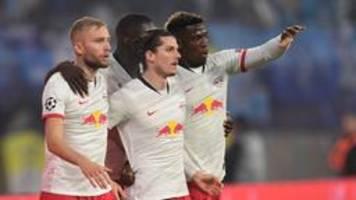champions league: leipzig nach traumtor auf achtelfinalkurs