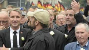 pegida, höcke und der friedliche bürgerprotest
