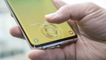 samsung galaxy: fingerscanner-fehler beim s10 und note 10 behoben