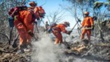 kalifornien: zehntausende fliehen vor waldbrand