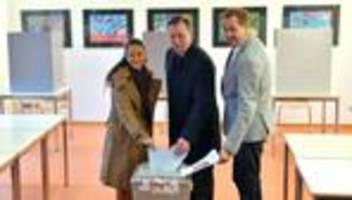 Wahlsonntag: Thüringen wählt neues Landesparlament