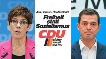 Nach der Wahl in Thüringen: Das konservative Dilemma: Wie der Umgang mit der Linkspartei die CDU zerreißen könnte