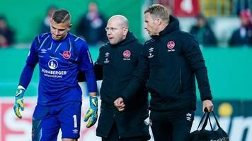 2. liga - achillessehnenverletzung: club-torwart klandt fällt aus