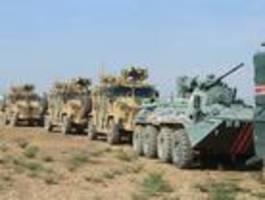 russland und türkei beginnen gemeinsame patrouillen