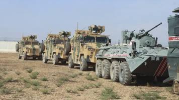 sicherheitszone im norden - syrien: russland und türkei beginnen gemeinsame patrouillen