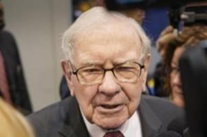 buffett mit gewinnsprung: cash-rekord erreicht 128 milliarden dollar