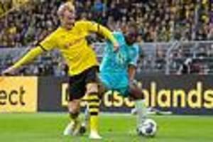 Fußball Bundesliga - Nach 3:0 gegen Wolfsburg: Titelaspirant Dortmund wieder auf Erfolgskurs