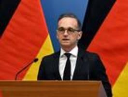 maas  wirft akk beschädigung deutscher außenpolitik vor