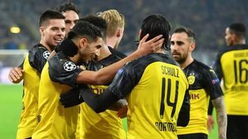 champions league - furiose aufholjagd: bvb dreht spiel gegen inter mailand