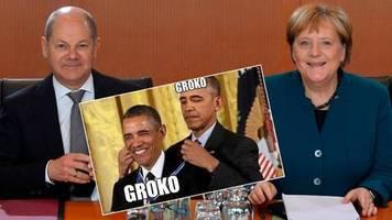 Nach 19 Monate Regierungszeit: Nimmt halt keiner ernst – Twitternutzer lästern über die positive Halbzeitbilanz der GroKo