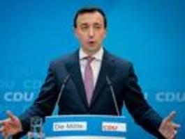 cdu-generalsekretär lehnt jede zusammenarbeit mit afd ab