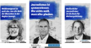 werbekampagne von lokalzeitungen: moral! ethos! qualität!