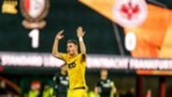 europa league: eintracht frankfurt verliert gegen standard lüttich