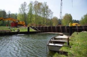 Schifffahrt: Schleuse arbeitet: Wasserweg Berlin-Seenplatte wieder frei