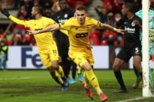 Europa League: Last-Minute-K.o: Eintracht Frankfurt bangt ums Weiterkommen