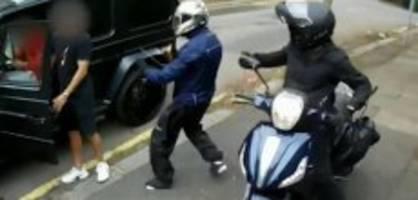 messer-attacke: neues video von Özil-Überfall aufgetaucht
