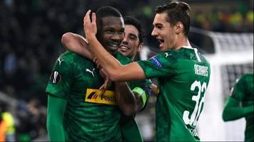 europa league: borussia mönchengladbach schlägt as rom in letzter minute