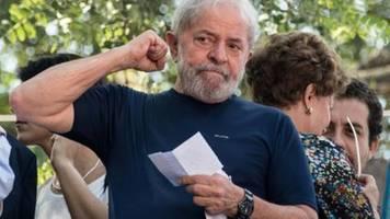 Brasiliens Ex-Präsident Lula aus Haft entlassen