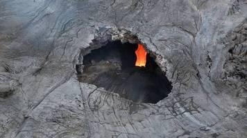Tödliche Falle: Hawaii: Mann wird im eigenen Garten von verstecktem Lavatunnel verschluckt