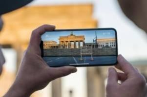 Geschichte hautnah: Neue Technik macht Berliner Mauer erlebbar
