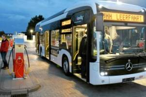 verkehr: e-busse für norderstedt und henstedt-ulzburg