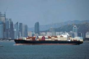Handelskrieg: Chinas Außenhandel geht im Oktober erneut zurück